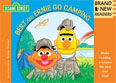*Bert and Ernie Go Camping (Brand New Readers)* by The Sesame Workshop, illustrated by Ernie Kwiat - beginning readers book review