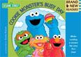 *Cookie Monster's Busy Day: Brand New Readers* by The Sesame Workshop, illustrated by Ernie Kwiat - beginning readers book review