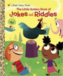 *The Little Golden Book of Jokes and Riddles* by Peggy Brown, illustrated by David Sheldon - beginning readers book review