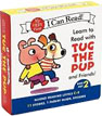*Learn to Read with Tug the Pup and Friends! Box Set 2, Levels C-E (My Very First I Can Read!)* by Dr. Julie M. Wood, illustrated by Sebastien Braun - beginning readers book review